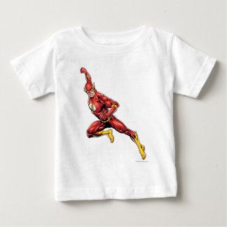フラッシュの突進 ベビーTシャツ