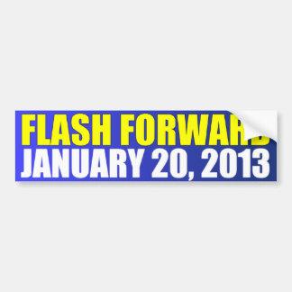 フラッシュフォワード2013年1月20日 バンパーステッカー