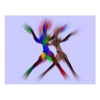 フラッシュ-ダンス ポストカード