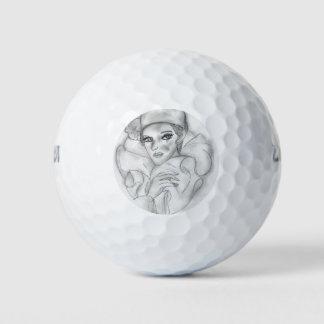 フラッパーの人形- 4 ゴルフボール