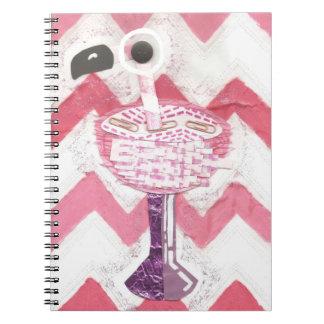 フラミンゴのカクテルのノート ノートブック