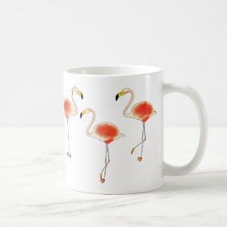 フラミンゴのコーヒー・マグ コーヒーマグカップ