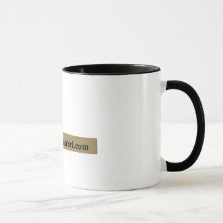 フラミンゴのサファリのマグ マグカップ