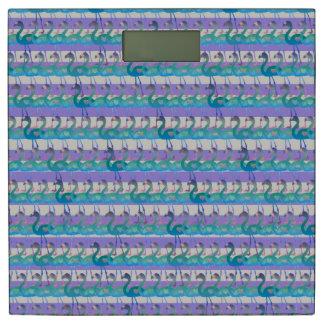 フラミンゴのハートパターン体重計(MultPplHt) 体重計