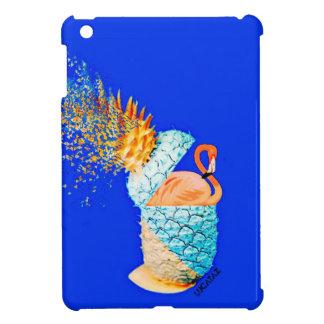 フラミンゴのパイナップル iPad MINIケース