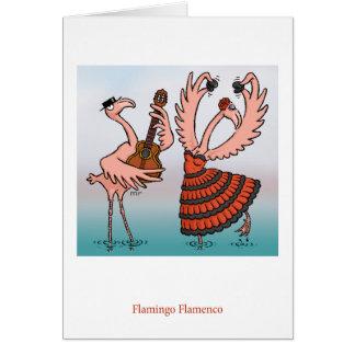 フラミンゴのフラメンコカード カード