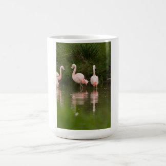 フラミンゴのマグ コーヒーマグカップ