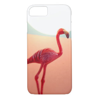 フラミンゴの例 iPhone 8/7ケース