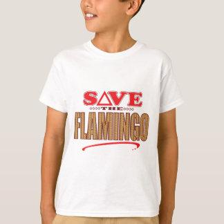 フラミンゴの保存 Tシャツ