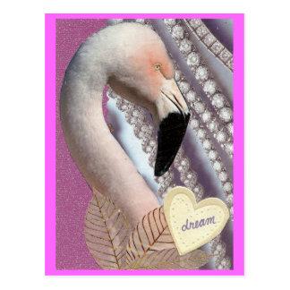 フラミンゴの夢 ポストカード
