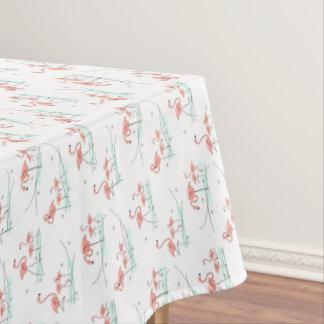 フラミンゴの数々のなテーブルクロス テーブルクロス