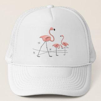 フラミンゴの星のトリオ2グループのトラック運転手の帽子 キャップ