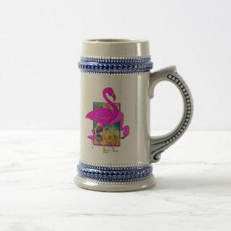 フラミンゴの系列 ビールジョッキ