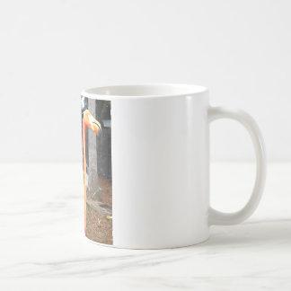 フラミンゴの顔 コーヒーマグカップ