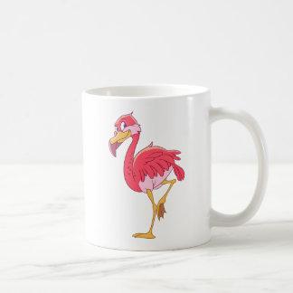 フラミンゴの鳥 コーヒーマグカップ
