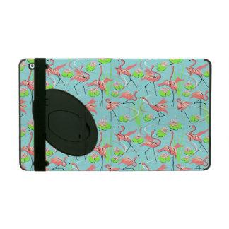 フラミンゴのFandangoの数々のなPowisのiCaseのiPadの場合 iPad ケース