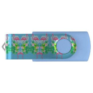 フラミンゴパターンUSBのフラッシュドライブ USBフラッシュドライブ