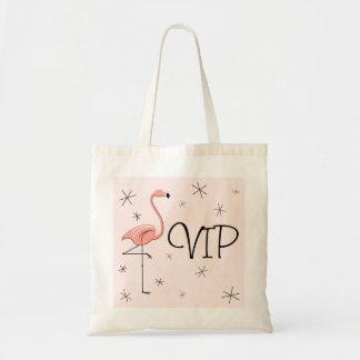 フラミンゴピンクの「VIP」のトートバック トートバッグ