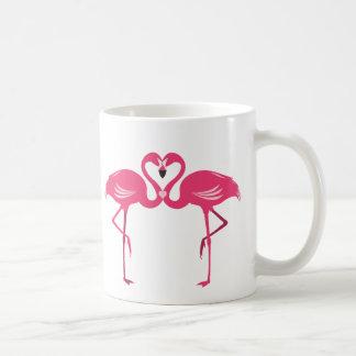 フラミンゴ愛 コーヒーマグカップ