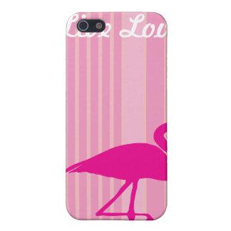 フラミンゴ愛 iPhone 5 COVER