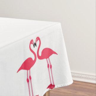 フラミンゴ鳥 テーブルクロス