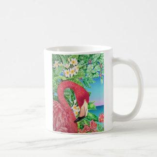 フラミンゴ コーヒーマグカップ