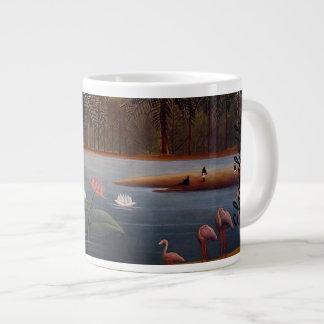 フラミンゴ ジャンボコーヒーマグカップ