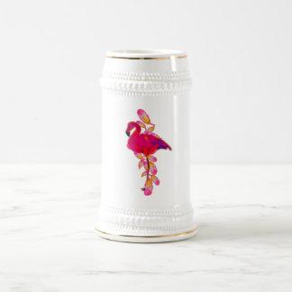 フラミンゴ ビールジョッキ