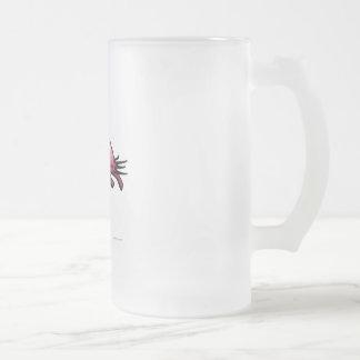 フラミンゴ フロストグラスビールジョッキ