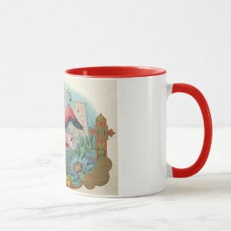 フラミンゴ マグカップ