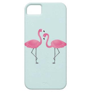 フラミンゴ iPhone SE/5/5s ケース