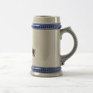 フラミンゴChrsitmas ビールジョッキ
