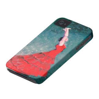 フラメンコのダンサーの穹窖の箱 Case-Mate iPhone 4 ケース