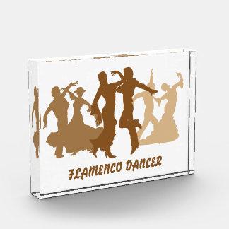 フラメンコのダンサーの絵 表彰盾