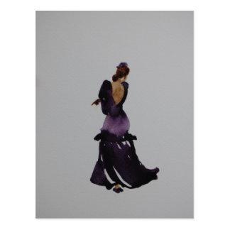 フラメンコのダンサーの郵便はがき ポストカード
