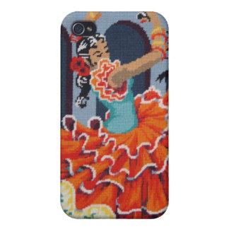 フラメンコのダンサーのiphone 4ケース iPhone 4/4Sケース
