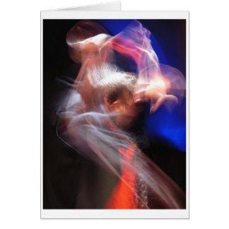 フラメンコのダンサー カード