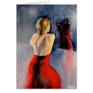 フラメンコのダンサー-3 カード