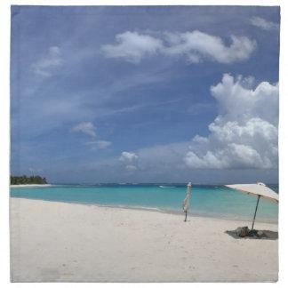 フラメンコのビーチCulebraプエルトリコ ナプキンクロス