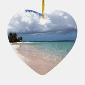 フラメンコのビーチCulebra セラミックオーナメント