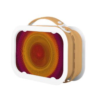フラメンコの回転の万華鏡のように千変万化するパターンの曼荼羅 ランチボックス