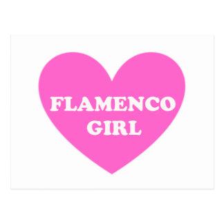 フラメンコの女の子 ポストカード