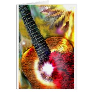 フラメンコの日光 カード