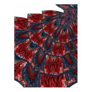 フラメンコの服 ポストカード