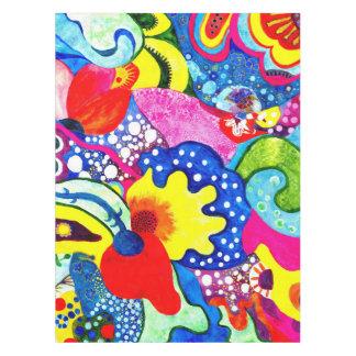 フラメンコの花 テーブルクロス