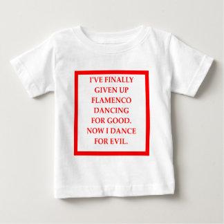 フラメンコ ベビーTシャツ