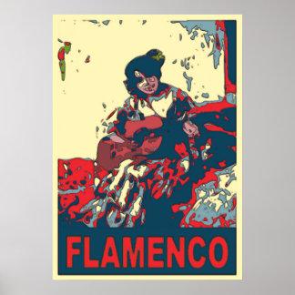フラメンコ ポスター