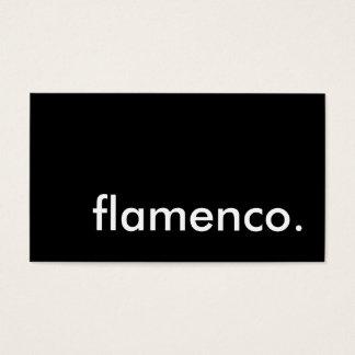 フラメンコ 名刺