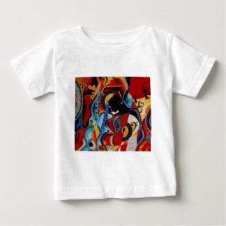 フラメンコJPEG ベビーTシャツ