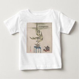 フラワーアレンジメント- Utagawa Itchinsai ベビーTシャツ